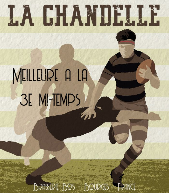 bière personnalisable rugby