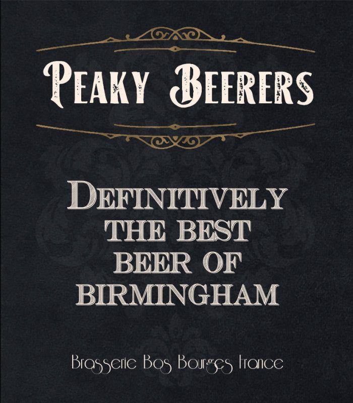 Peaky Beerers