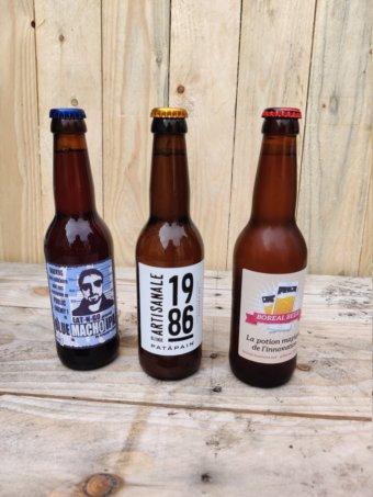 bières avec etiquette personnalisées pour les entreprises